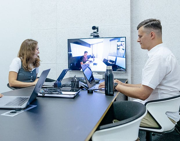 Network diagnostics for browser-based video meetings. Connectivity and constraints