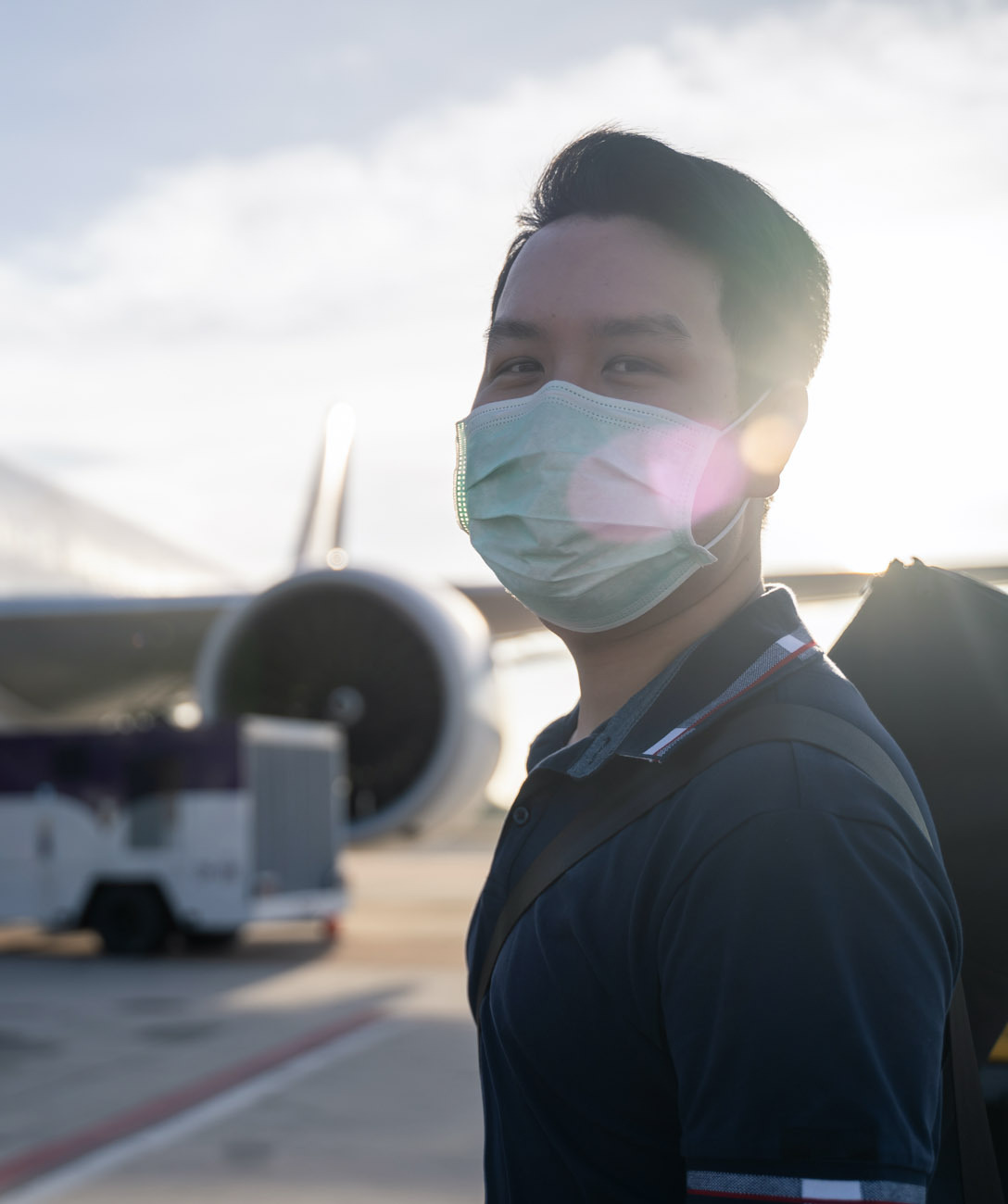 Rebuilding trust in air-traveling in times of a global pandemic