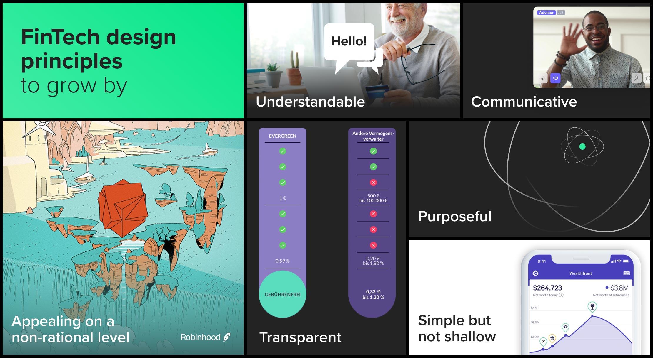 fintech design principles
