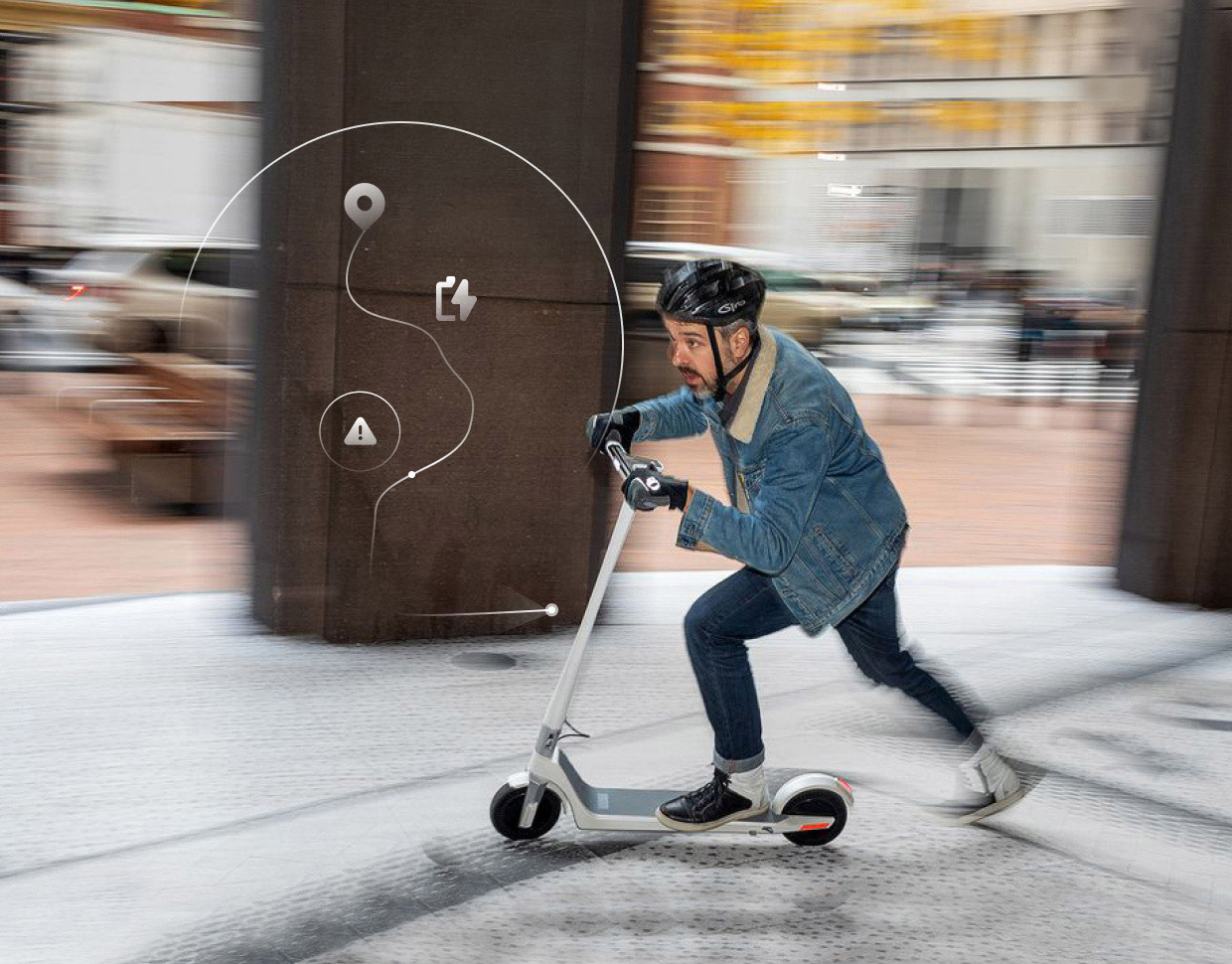 Build a holistic micromobility user journey with Design Thinking principles